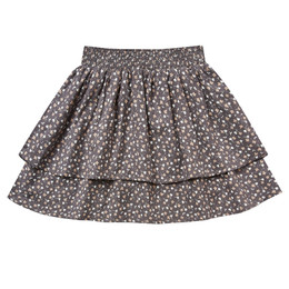 Rylee & Cru   Enchanted Forest Tiered Mini Skirt - Indigo Ditsy (Drop 1)