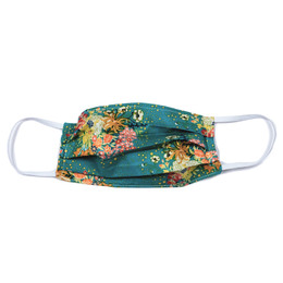 Haute Baby Double Layer Pleated Cotton Face Mask - Floral Fantasy