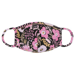 Imoga   Hope Triple Layer Jersey Face Mask w/Filter Pocket - Filter Included! - Floral