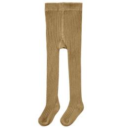 Rylee & Cru     Enchanted Forest Rib Knit Tights - Goldenrod (Drop 2)