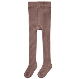 Rylee & Cru     Enchanted Forest Rib Knit Tights - Wine (Drop 2)