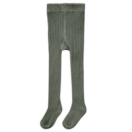 Rylee & Cru     Enchanted Forest Rib Knit Tights - Forest (Drop 2)