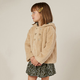 Rylee & Cru     Enchanted Forest Double Breasted Coat - Oat (Drop 2)