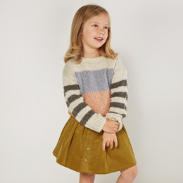 Rylee & Cru     Enchanted Forest Aspen Sweater - Multi Stripe (Drop 2)