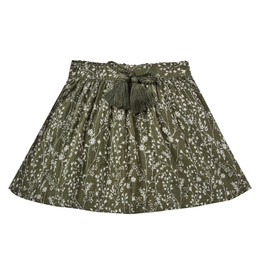 Rylee & Cru     Enchanted Forest Mini Skirt - Vines - Forest (Drop 2)