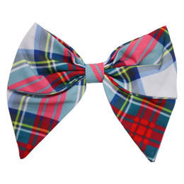 Be Girl Clothing       Holiday Classic Bow - Holiday Plaid