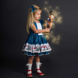 Be Girl Clothing        Holiday Nutcracker Hayden Dress