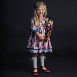 Be Girl Clothing        Holiday Nutcracker Gibson Dress