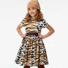 Molo Candy Organic Dress - Wild Tiger
