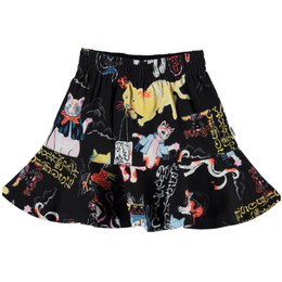 Molo   Barbera Organic Skirt - Ninja Cats