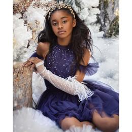 Tutu Du Monde All That Twinkles Fleur Tutu Dress - Sapphire