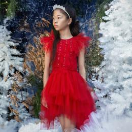 Tutu Du Monde All That Twinkles Charade Tutu Dress - Ruby