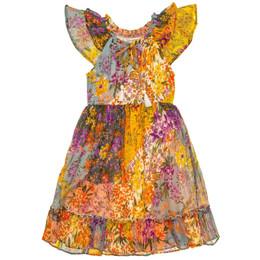 Mimi & Maggie    Larkspur Peasant Dress