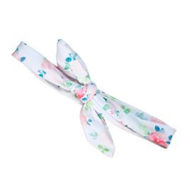 Blueberry Bay Swim Headwrap - Blush Floral