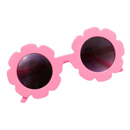 Blueberry Bay Flower Sunnies Sunglasses - Bubblegum Pink