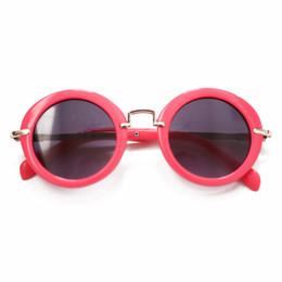 Blueberry Bay Round Sunnies Sunglasses - Magenta
