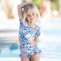 Blueberry Bay Royal Reef Villa 1pc Swimsuit