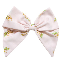 Be Girl Clothing        Bunny Winks Classic Bow - Blush Floral