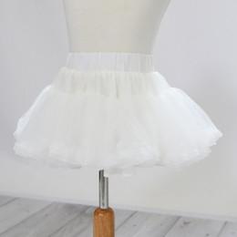 Be Girl Clothing                  White Under Pettiskirt