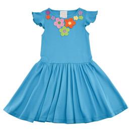 Lemon Loves Lime  Spring Day Dress - Scuba Blue