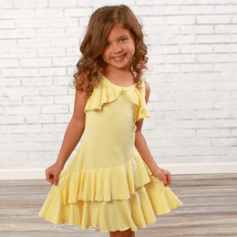 Lemon Loves Lime  Fluttering Flow Dress - Butter