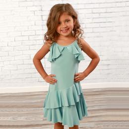 Lemon Loves Lime  Fluttering Flow Dress - Sterling Blue