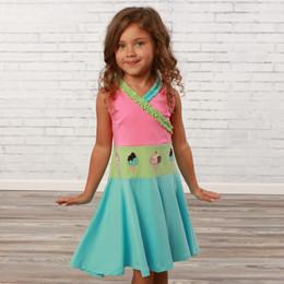 Lemon Loves Lime  Scream For Ice Cream Dress - Multi