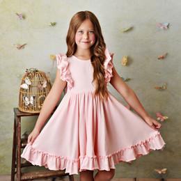 Serendipity Clothing  Bella Pocket Dress - Blush Pink