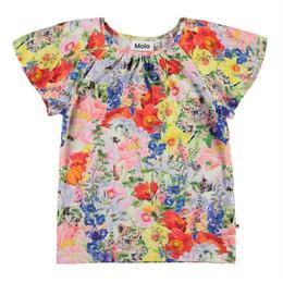 Molo     Rachel Floral Print Organic Top - Hide and Seek