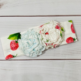 Swoon Baby by Serendipity  Strawberry Fields Headband - Blue