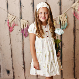 Swoon Baby by Serendipity  Vintage Bloom Dainty Tier Dress