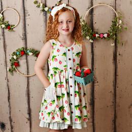 Swoon Baby by Serendipity  Strawberry Fields Prim Pocket Dress