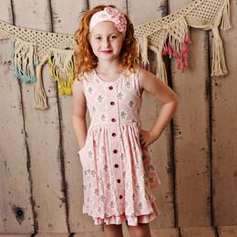 Swoon Baby by Serendipity  Sugar Blossom Prim Pocket Dress