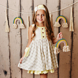 Swoon Baby by Serendipity  Rainbow Fleur Bliss Pocket Dress