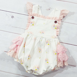 Swoon Baby by Serendipity  Vintage Bloom Frilly Eyelet Bubble