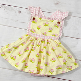 Swoon Baby by Serendipity  Lemon Rose Dainty Bubble Dress