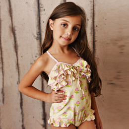 Swoon Baby by Serendipity  Lemon Rose 1pc Swimmy