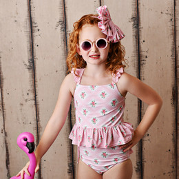 Swoon Baby by Serendipity  Sugar Blossom 2pc Tunic Swimmy