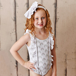 Swoon Baby by Serendipity  Rainbow Fleur 1pc Swimmy