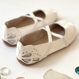 Livie & Luca   Mariposa Shoes - White Patent (Spring 2021)
