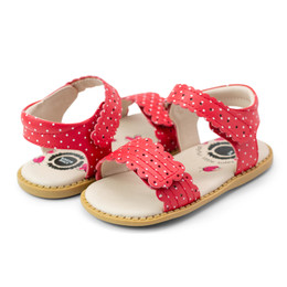Livie & Luca    Posey Sandals - Red Polka Dot (Summer 2021)