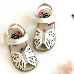 Livie & Luca    Wing Sandals - White Patent (Summer 2021)