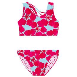 Feather 4 Arrow Summer Sun 2pc Reversible Bikini Swimsuit - Island Paradise