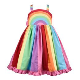 Cotton Kids  Rainbow Dress