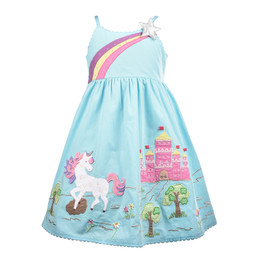 Cotton Kids  Unicorn Dress