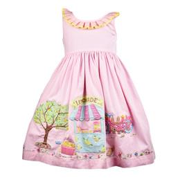 Cotton Kids  Lemonade Stand Dress