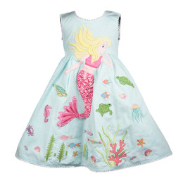 Cotton Kids  Mermaid Dress