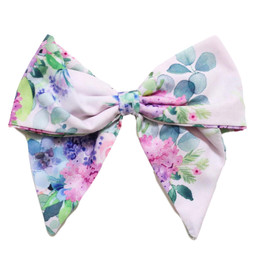Be Girl Clothing         Lilac Dreams Classic Bow - Lilac Floral