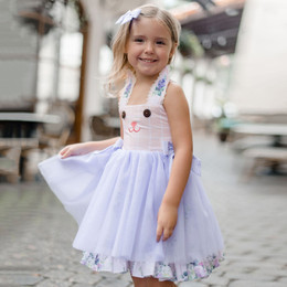 Be Girl Clothing        Lilac Dreams Layla Bunny Dress
