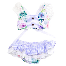 Be Girl Clothing        Lilac Dreams Camille 2pc Sunsuit